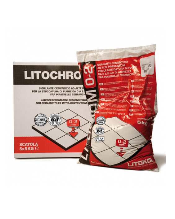 High performance cementitious grout for the grouting of joints up to 2mm wide between ceramic tiles.