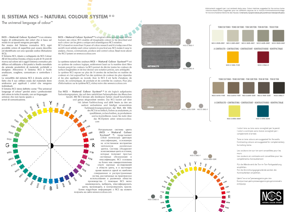 Ncs Farben home elements rondine